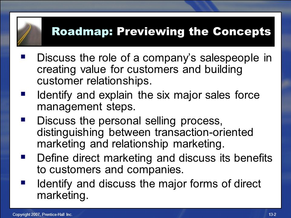 transaction oriented marketing and relationship customer