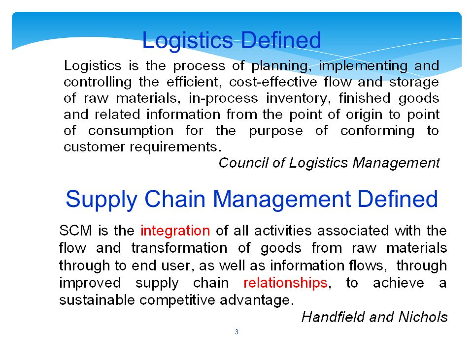 master thesis supply chain management Supply chain management as a source of competitive advantage a case study of three fast-growth companies master thesis in business administration management accounting department of business administration  practises that are pointed out as a source of competitive advantage.