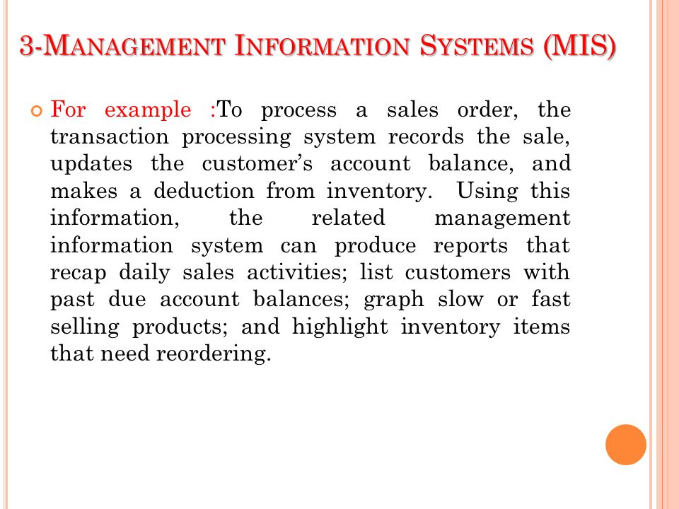 the uses and problems associated with management information systems mis Businesses use management information systems to collect, interpret and analyze data as an aid in their decision-making processes.