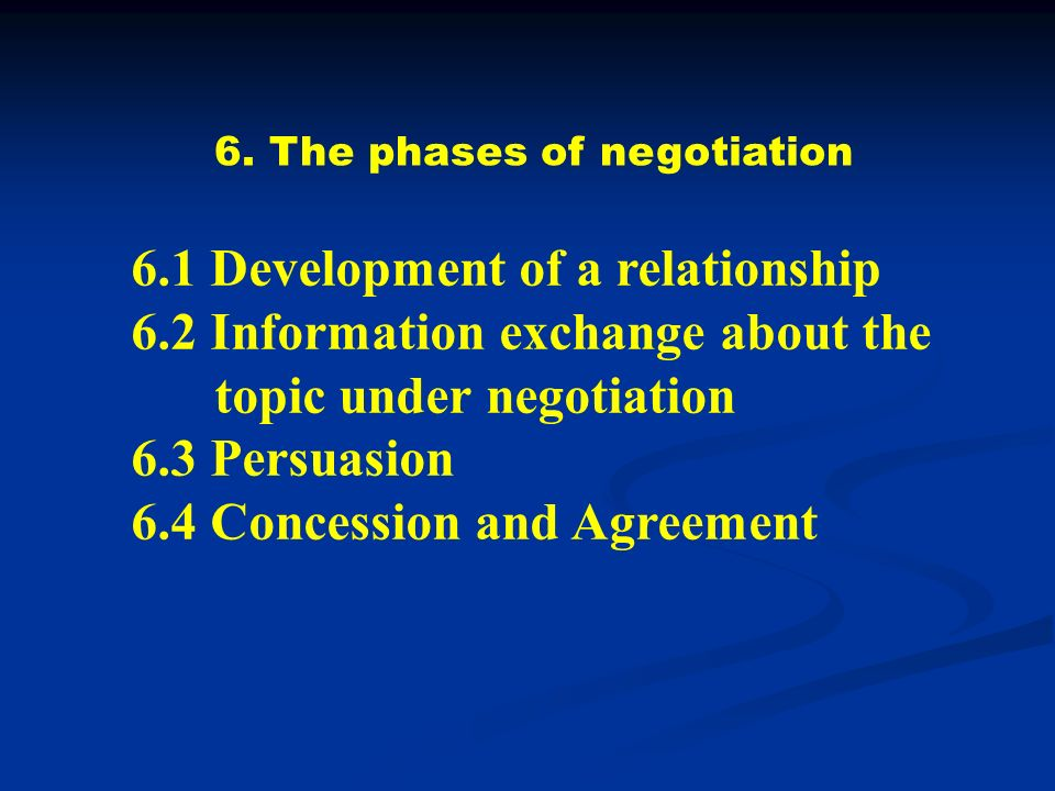 business and labor relationship negotiation