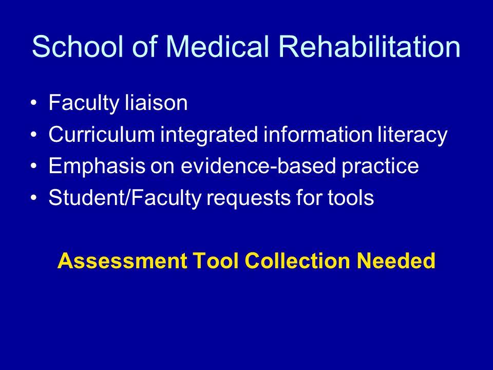 School of Medical Rehabilitation