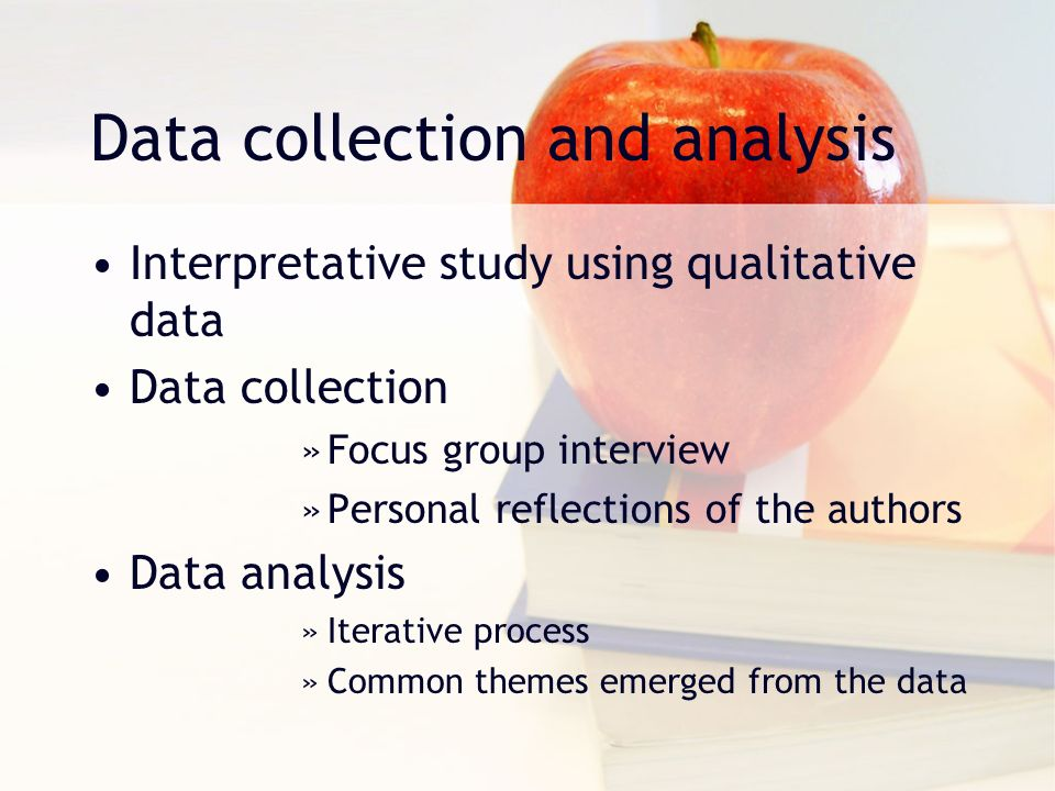 data collection and data analysis physical education essay Data collection and sampling opre 6301 recall statistics is a tool for converting data into information: data statistics information but where then does data come from how is it gath-  statistical analysis three of the most popular methods are: • direct observation • experiments, and • surveys 2.