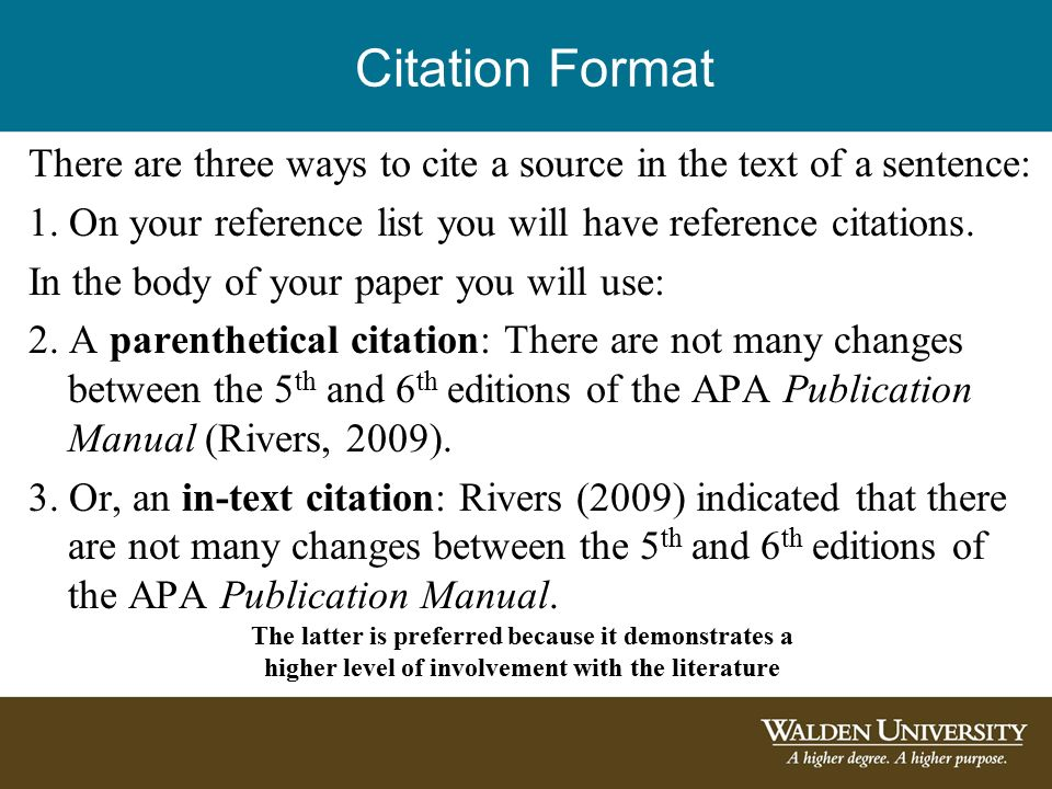 how to apa end text citation for an academic journal