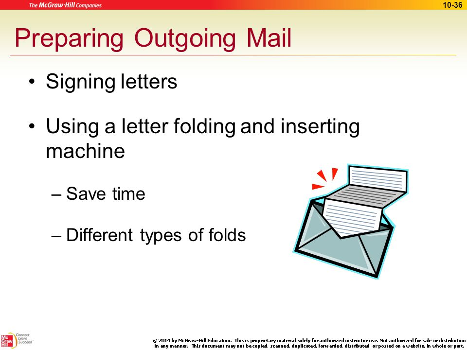 letter folding and inserting machine