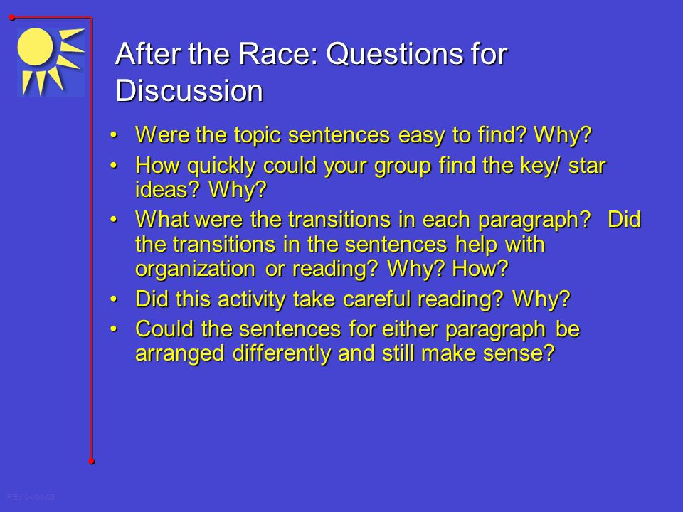 Easy Topics For Group Discussion