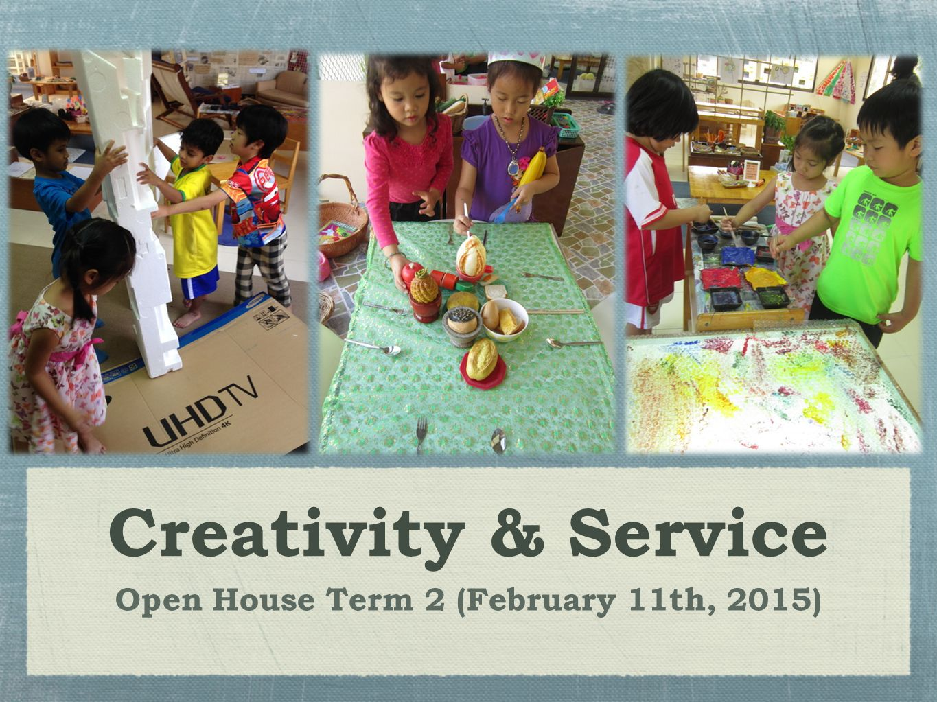 Open House Term 2 (February 11th, 2015)