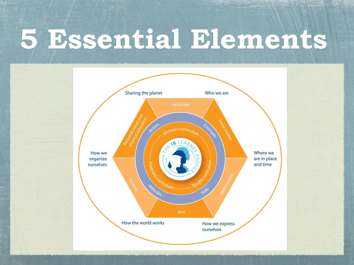 5 Essential Elements