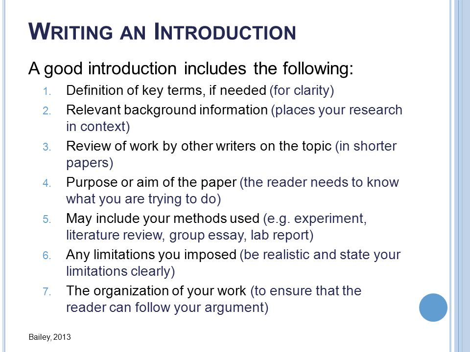 definition term research paper