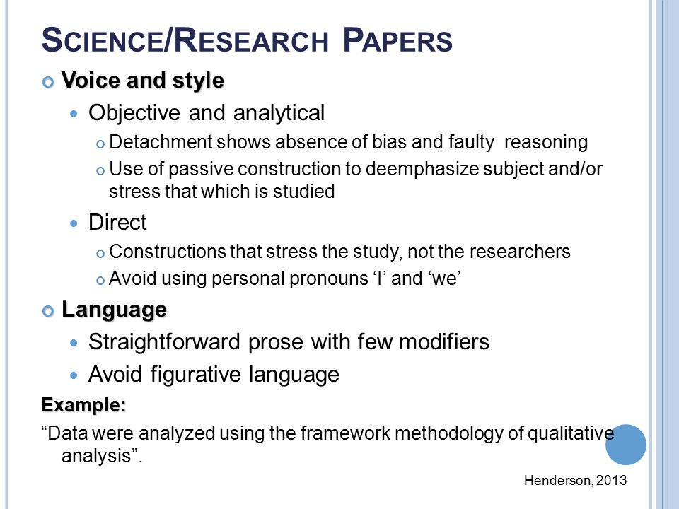 scientific research paper formats Great topic ideas for science essays, links to articles to begin your research, writing tips, and step-by-step instructions for writing your paper.