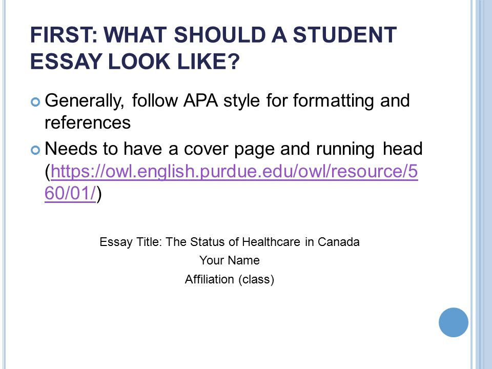 as a reference see chapters essay writing basics ppt first what should a student essay look like