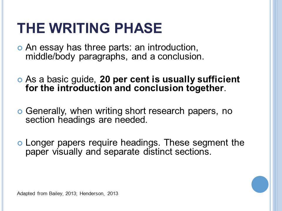 as a reference see chapters essay writing basics ppt video  the writing phase an essay has three parts an introduction middle body paragraphs