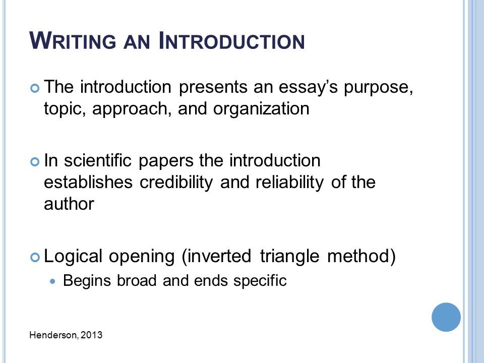 the introduction of essay Essay Structure: Learn How to Start, Write, and End Your Essay