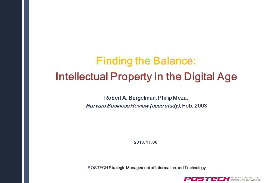 intellectual property rights case study ppt