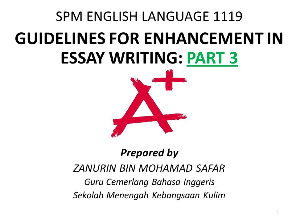 guidelines for enhancement in essay writing part ppt video  guidelines for enhancement in essay writing part 3