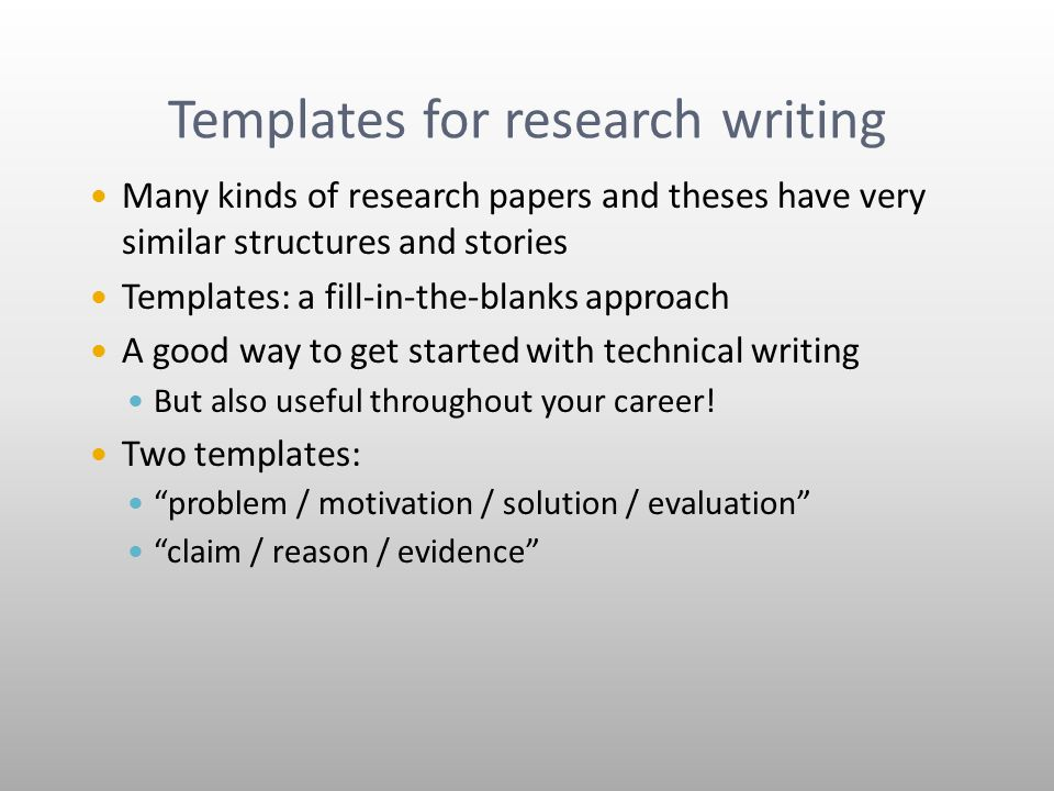 ways to approach a research paper How can i choose a good topic for my research paper and hone or change it in more appropriate ways research what's your general approach to the.