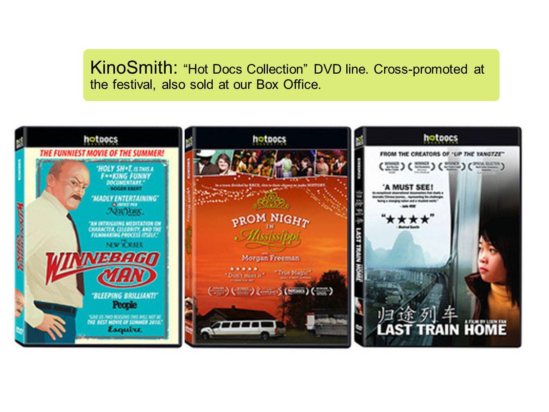 KinoSmith: Hot Docs Collection DVD line