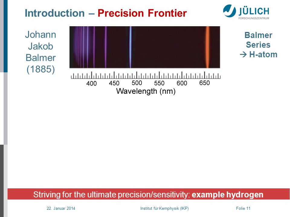 Introduction – Precision Frontier