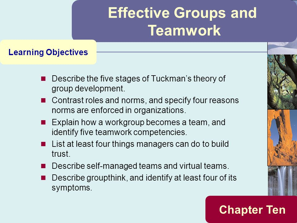 how a work group becomes a team identify five teamwork competencies and describe self managed teams  They exemplify a sense of team loyalty and both cheer on the group as a whole become part of the group self-awareness and reflection in group work.