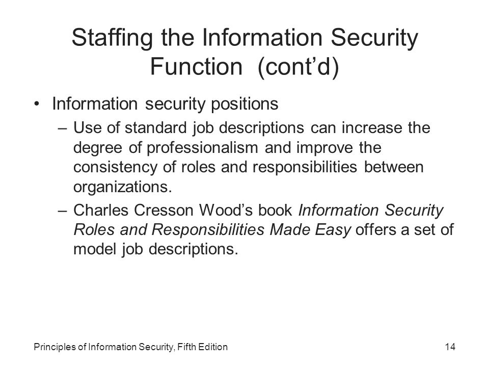 principles of information security fifth edition pdf