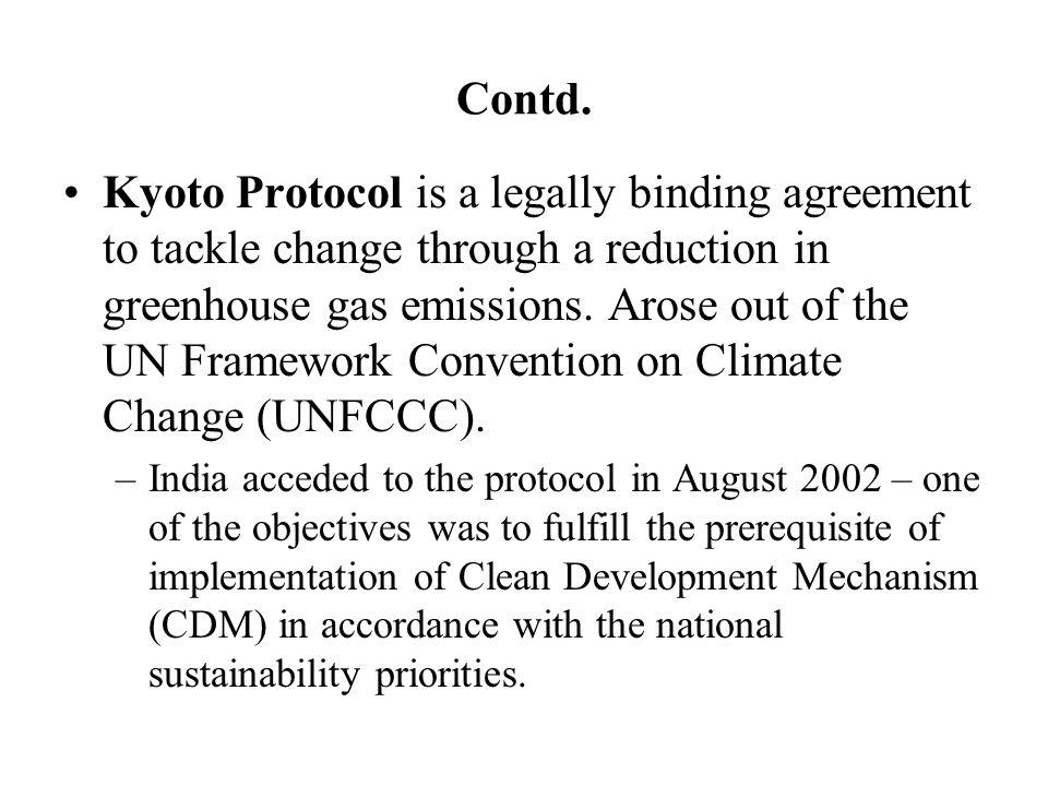 kyoto protocol india