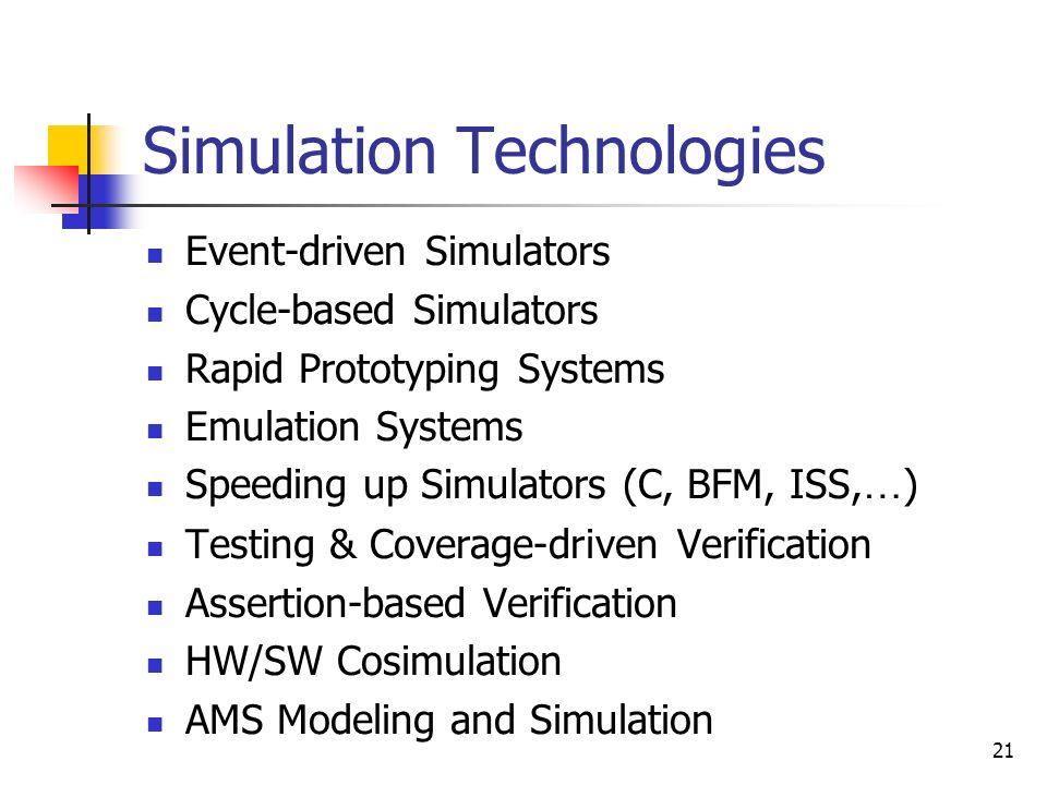 Simulation Technologies