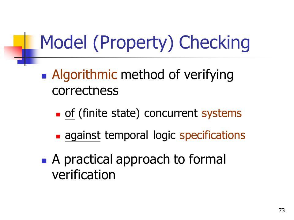Model (Property) Checking