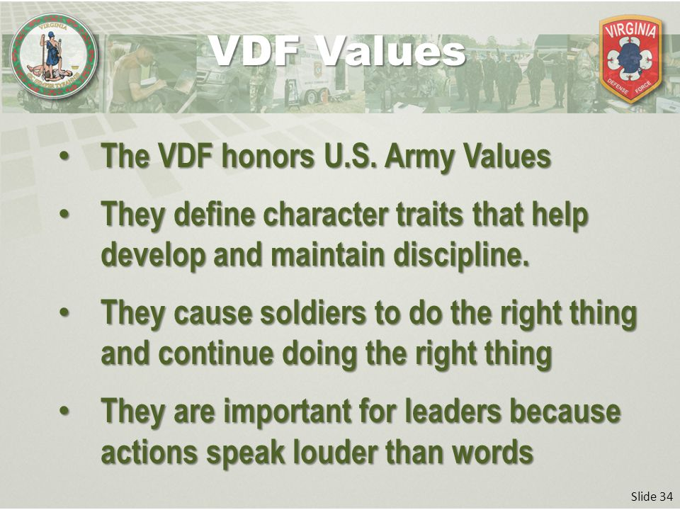 importance of army values