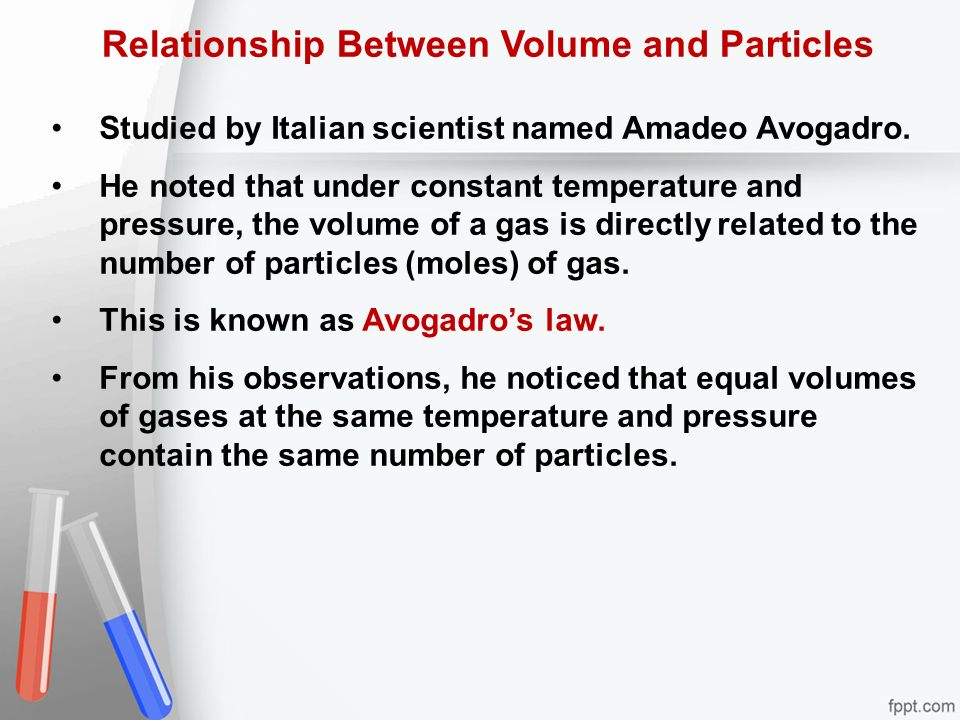 the relationship that exists between the pressure and volume of a gas held at a constant temperature