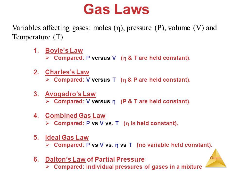 unit 6  gases  u0026 the kinetic molecular theory