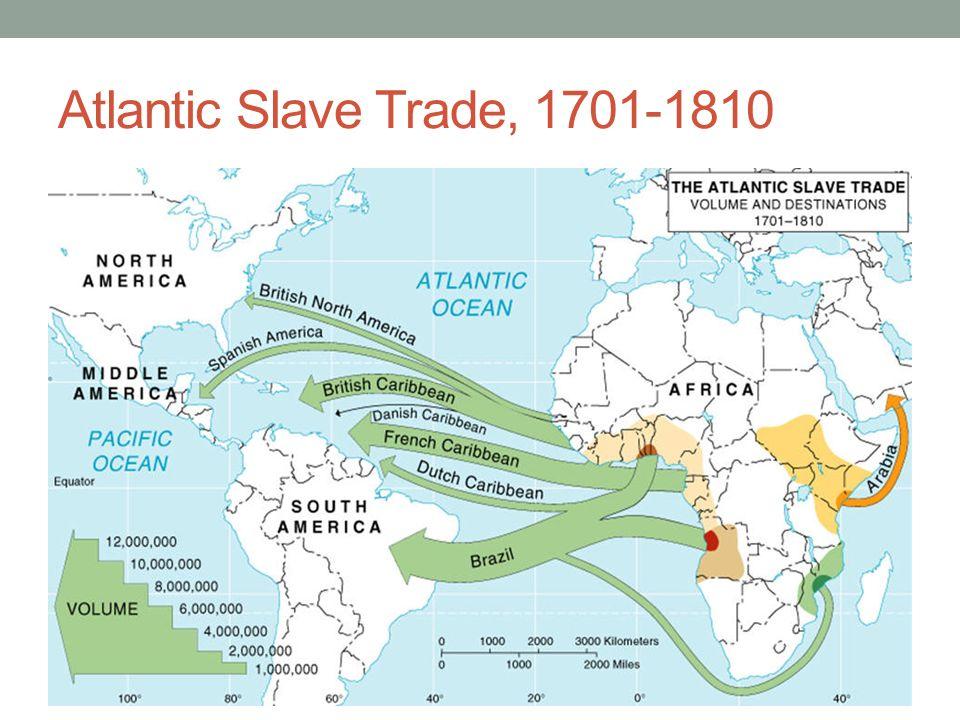 Atlantic slave trade system definition