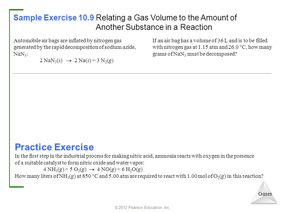 Chapter 10 Gases. - ppt download