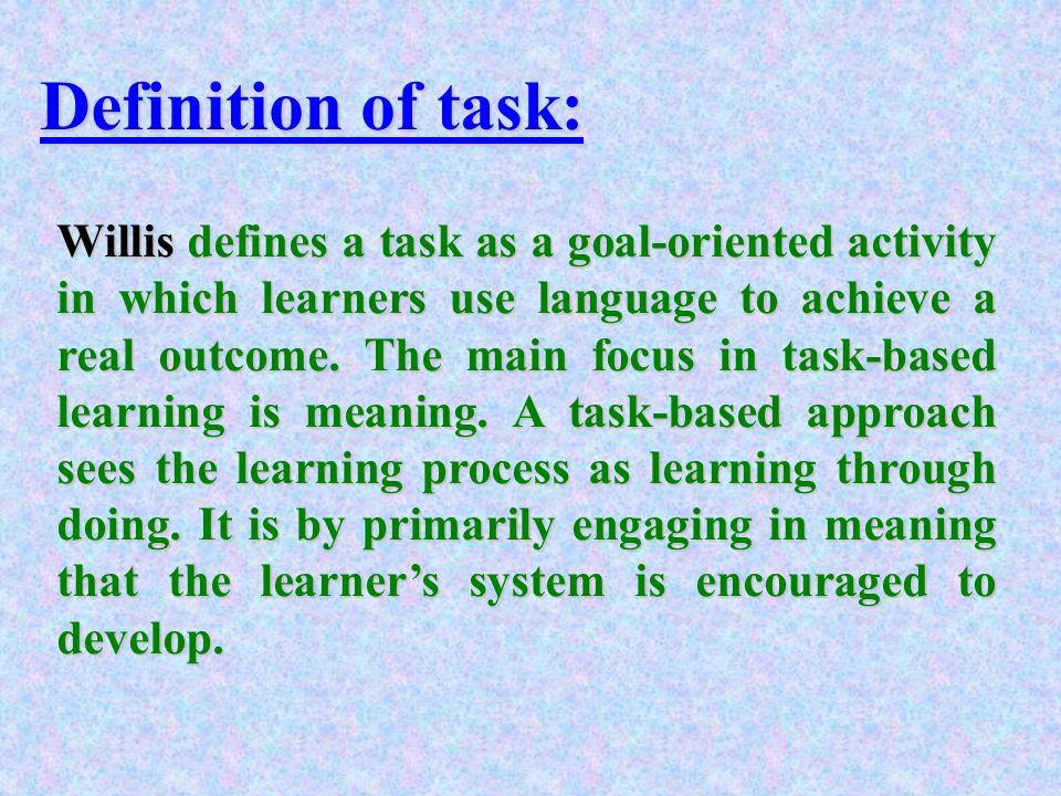 language of instruction definition