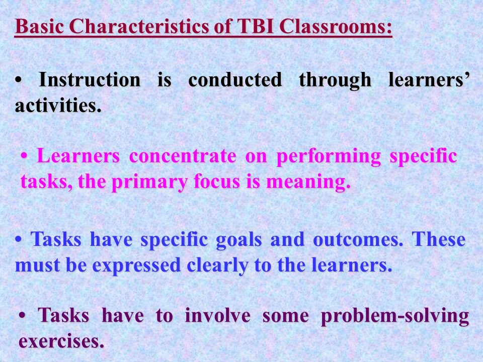 Current Teaching Approaches And Models