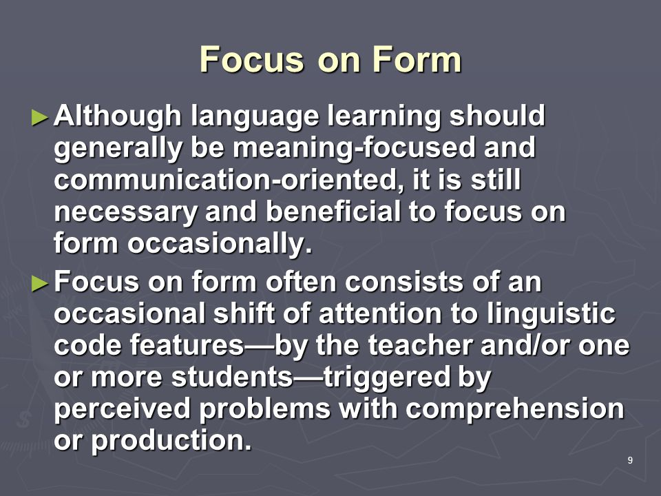 Linguistics and Foreign Language Teaching - ppt download