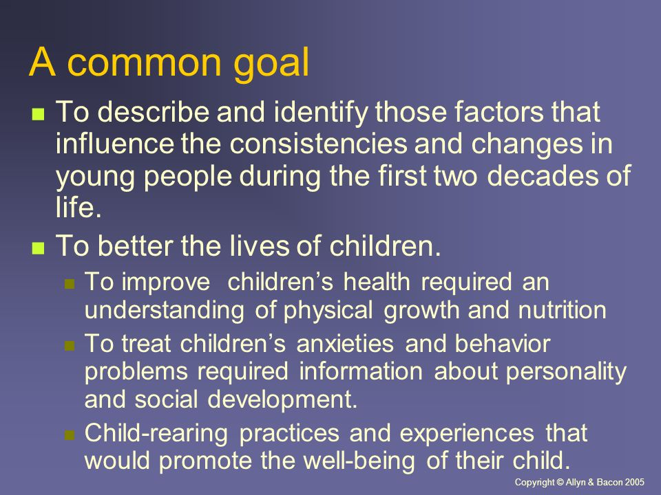 The factors that influence the well being of children and young people essay