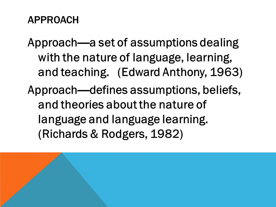 richards and rodgers approaches and methods in language teaching pdf