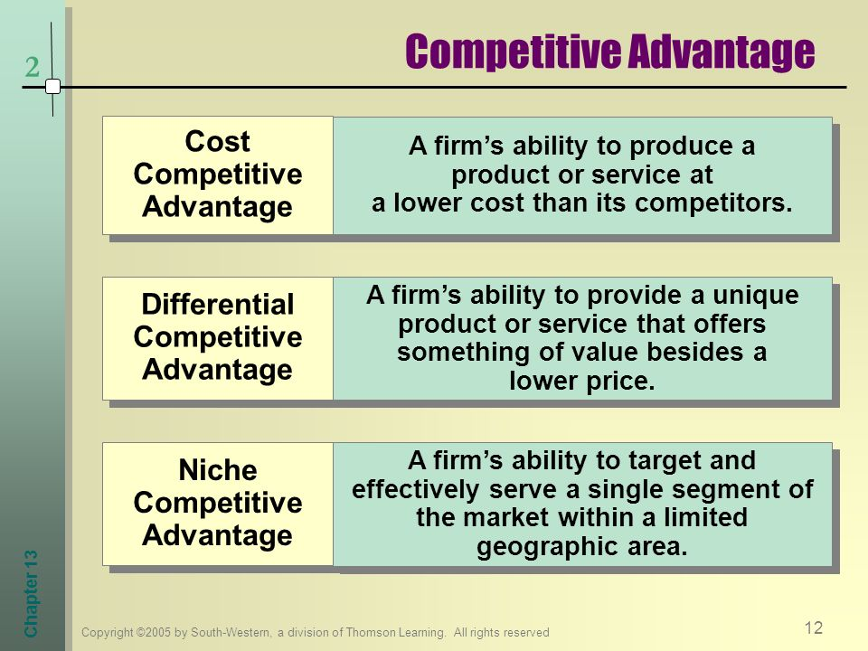 how to make a product unique and competitive
