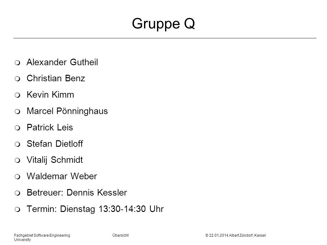 Gruppe Q Alexander Gutheil Christian Benz Kevin Kimm