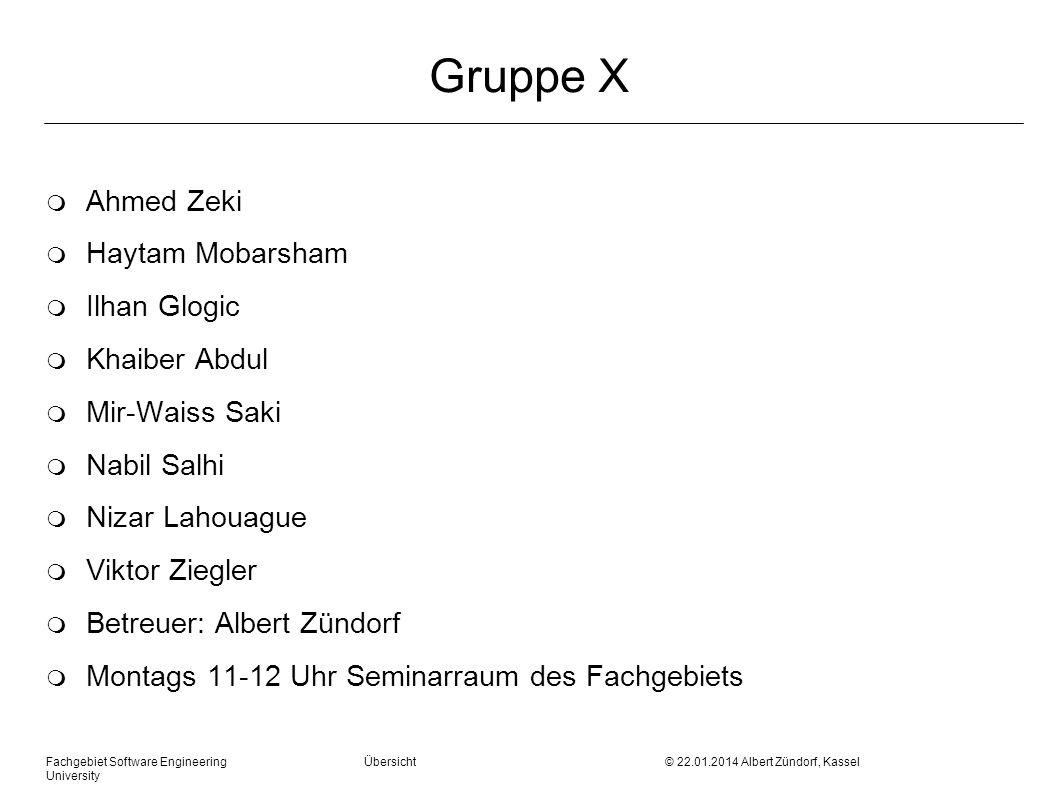 Gruppe X Ahmed Zeki Haytam Mobarsham Ilhan Glogic Khaiber Abdul