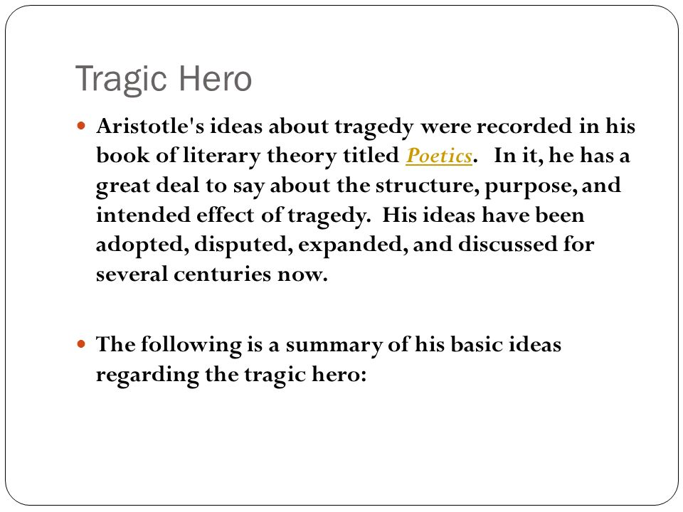 a comparison of the tragic heroes hamlet and okonkwo Hamlet (tough one) undone by tragic and epic heroes have some common traits what is the difference between a tragic hero and a standard hero.