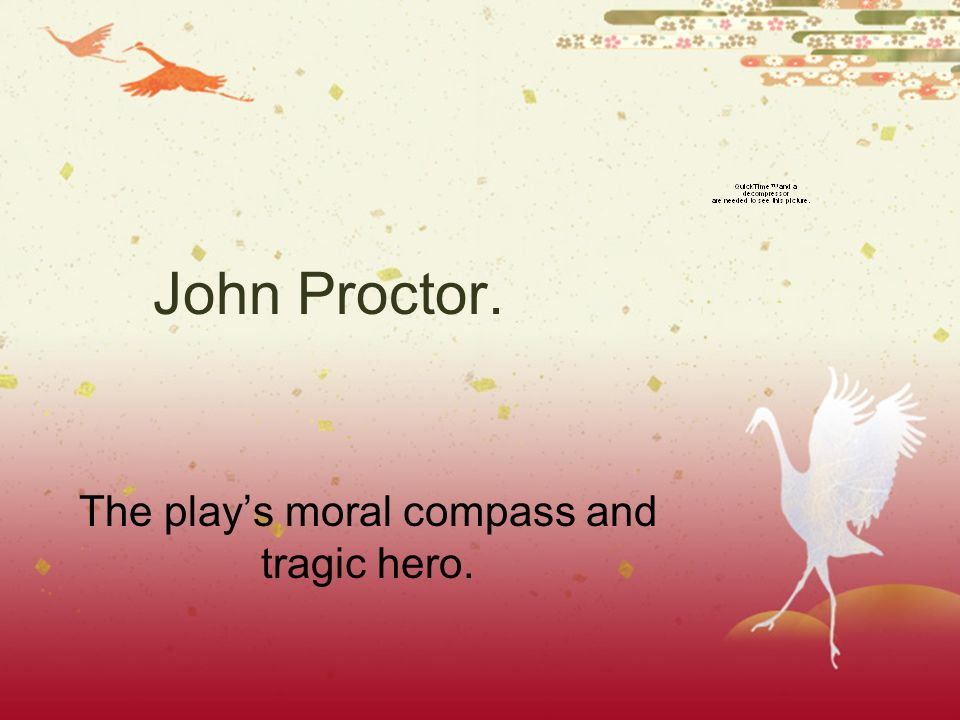 the play s moral compass and tragic hero ppt the play s moral compass and tragic hero