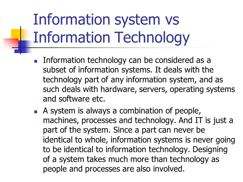 Information Technology System : Cse information technology ppt video online download