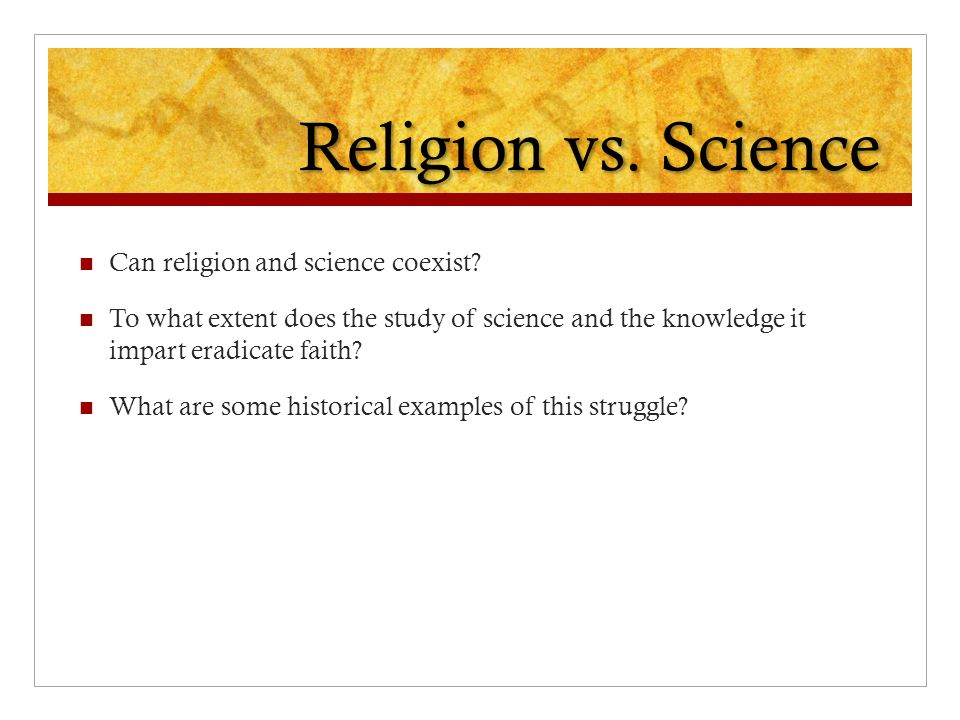 science and faith essay