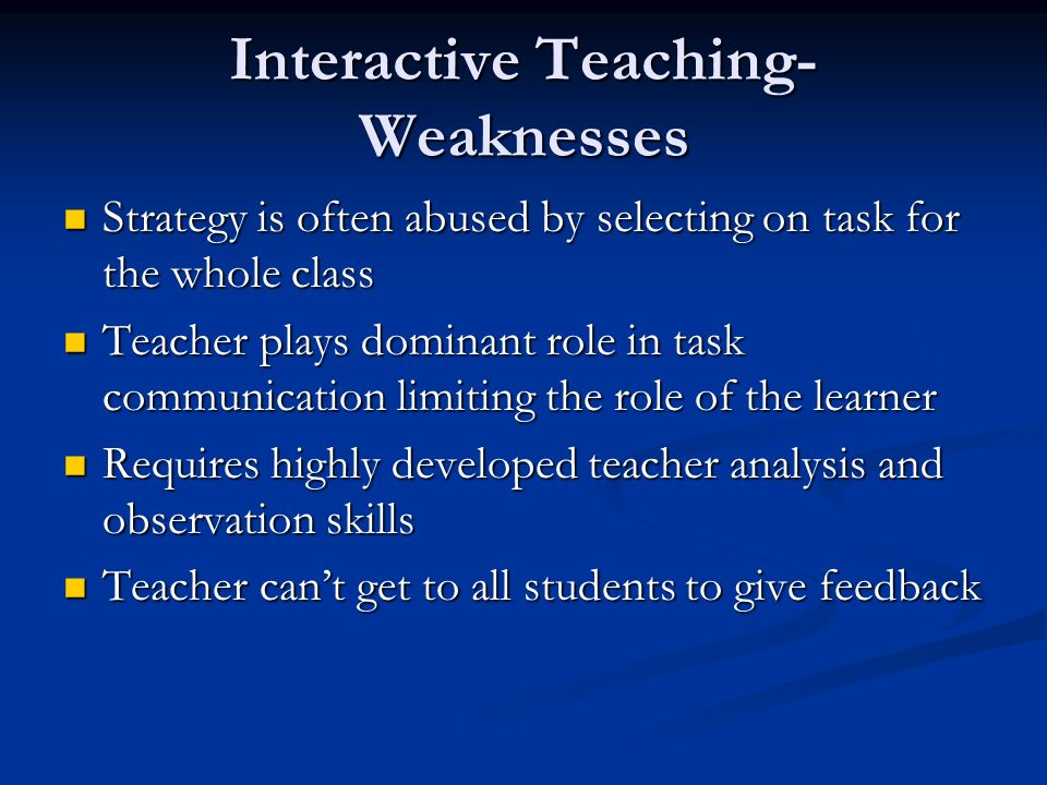 The role of teacher in written feedback