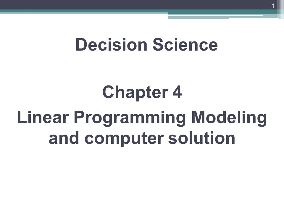 decision science Decision science is the collection of quantitative techniques used to inform decision-making at the individual and population levels it include decision analysis, risk analysis, cost-benefit and cost-effectiveness analysis, constrained optimization, simulation modeling, and behavioral decision theory, as well as parts of operations research.
