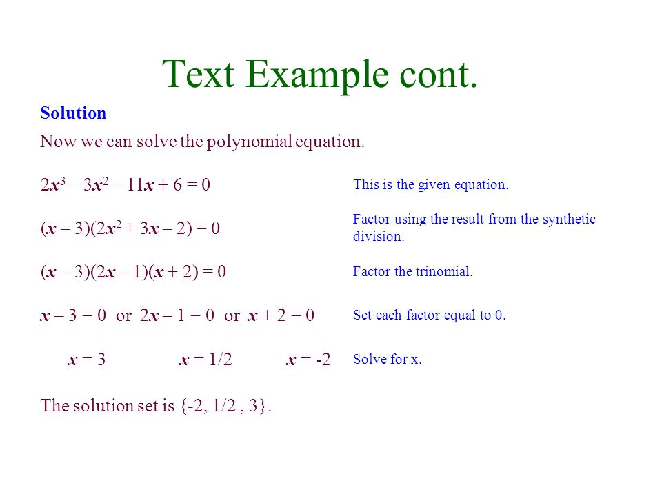 Write a polynomial equation with integer coefficients that has the given roots