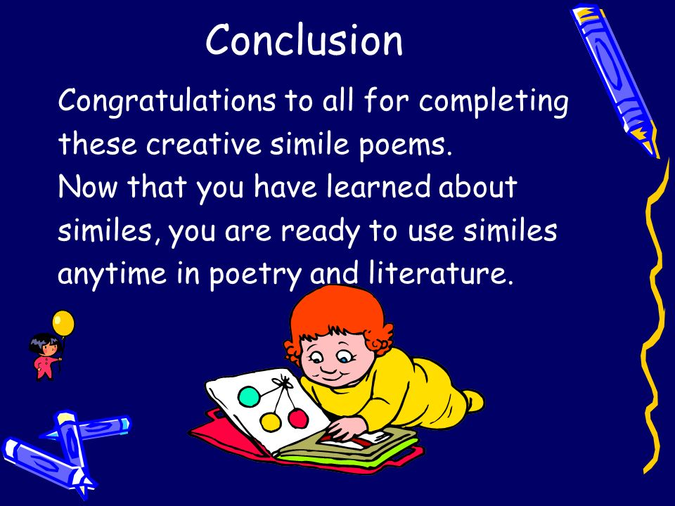 Conclusion Congratulations to all for completing
