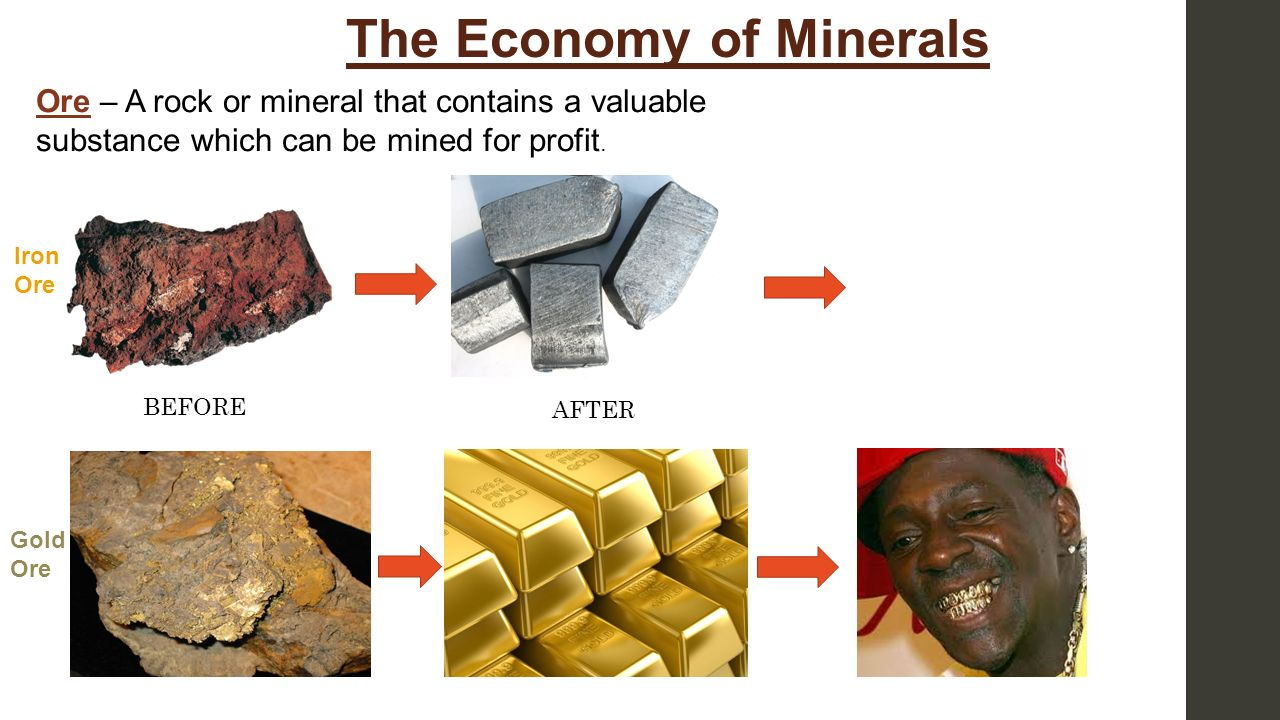 The Economy of Minerals