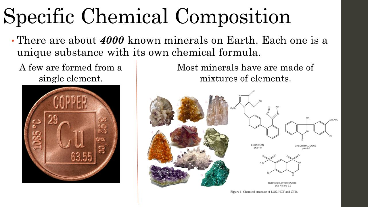 Specific Chemical Composition