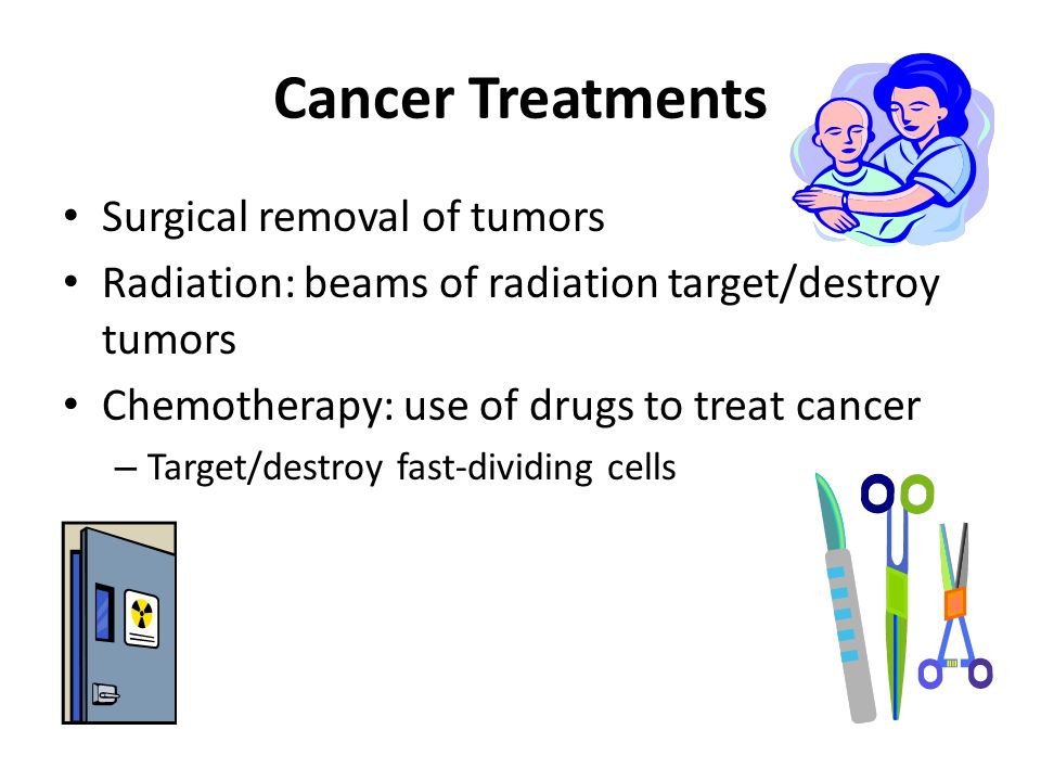Cancer Treatments Surgical removal of tumors